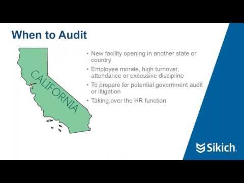 Conducting a Successful HR Audit | Sikich LLP