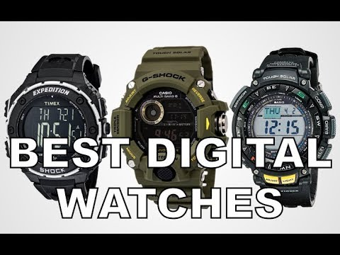 The Best Digital Watches For EDC