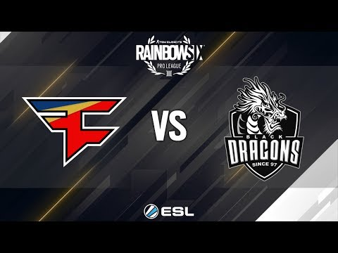 Rainbow Six Pro League - Season 8 - LATAM - FaZe Clan vs. Black Dragons - Week 7