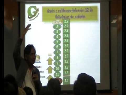 Good Top Up บรรยายแผนการตลาด หนุ่ม สุบิน อินน้อย