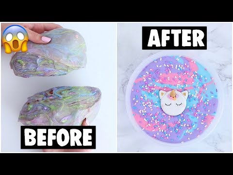EXTREME IMPOSSIBLE SLIME MAKEOVERS *fixing my slime smoothie*
