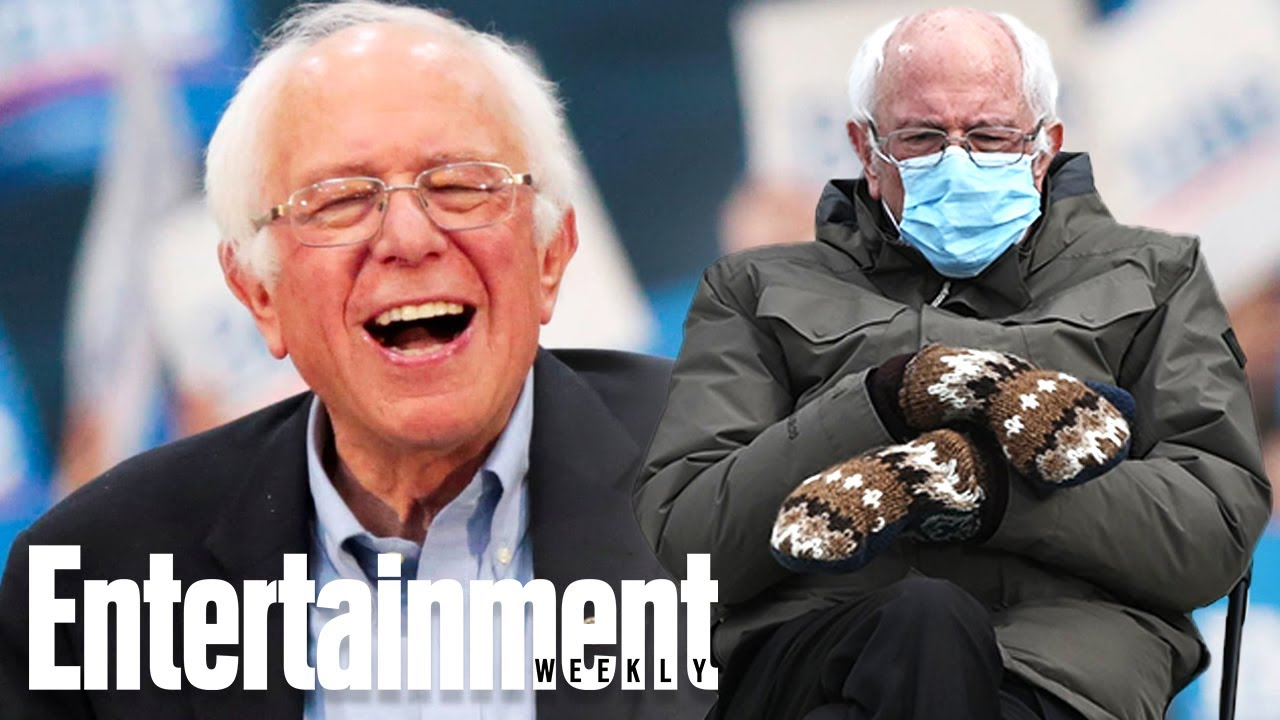 Bernie Sanders Reacts to Viral Inauguration Memes | Newsflash
