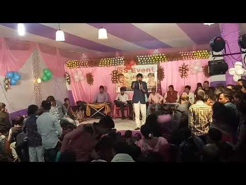 bhojpuri stage show 2018!singer muni lal pyare!bhakti song