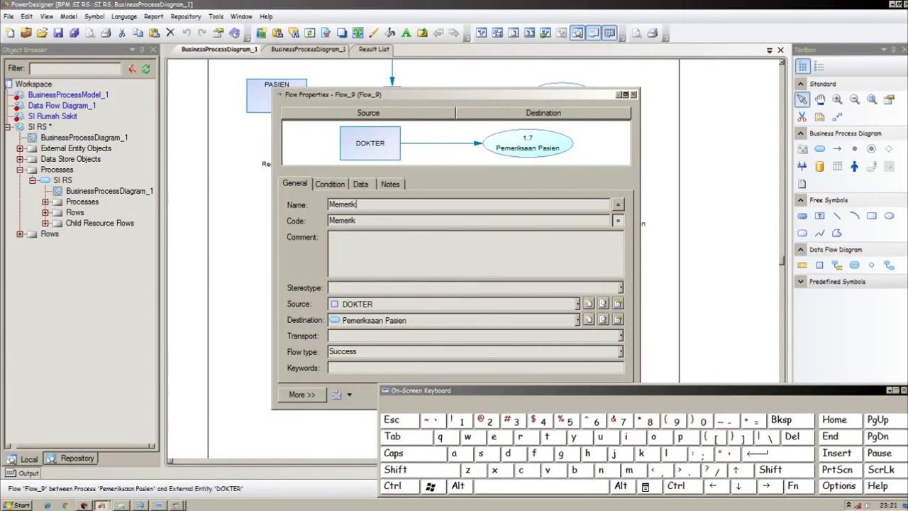 Download dfd sistem informasi rumah sakit diagram context dan download dfd sistem informasi rumah sakit diagram context dan level 1 dengan power disgner 16 ccuart Images