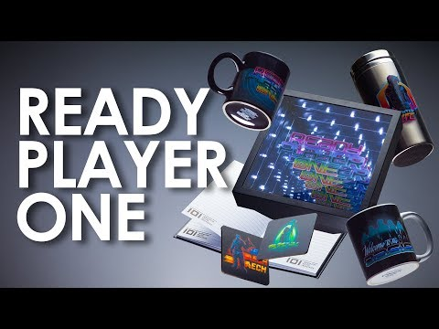 Ready Player One Movie Merchandise Unboxing | Paladone