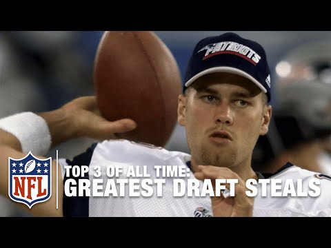 Top 3 Draft Steals of All Time | NFL
