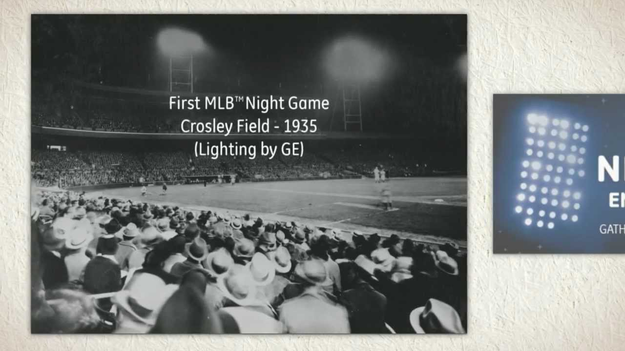 At Major League Baseballs First Night Game GE Sparked A Lighting Revolution GE Lighting