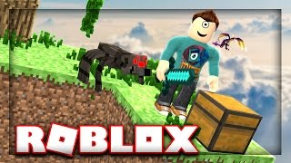Un MOB SPAWNER?! | Roblox Sky Block Tycoon p.2 w/ MicroGuardian!