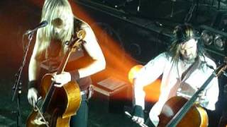 Apocalyptica - End Of Me feat Tipe Johnson (Prague - 26.2.2011)