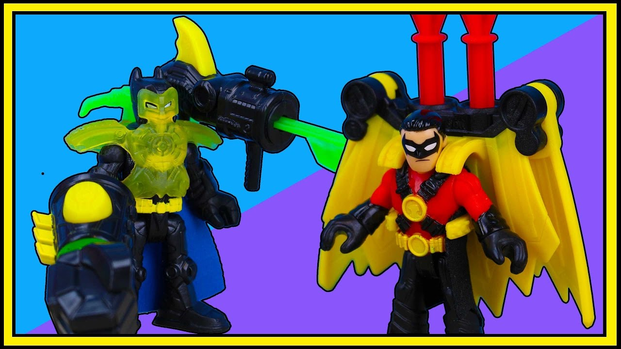 Imaginext Thunder Punch Batman And Imaginext Red Robin
