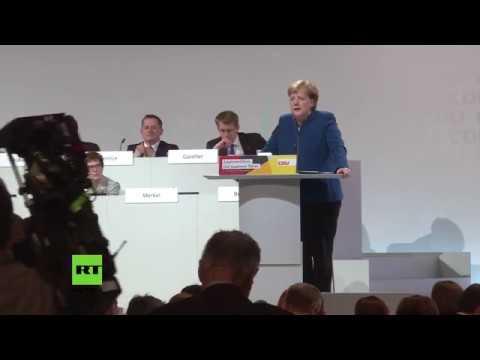 """""""Es war mir eine Ehre"""" - Merkels Abschiedsrede als CDU-Vorsitzende in Auszügen"""