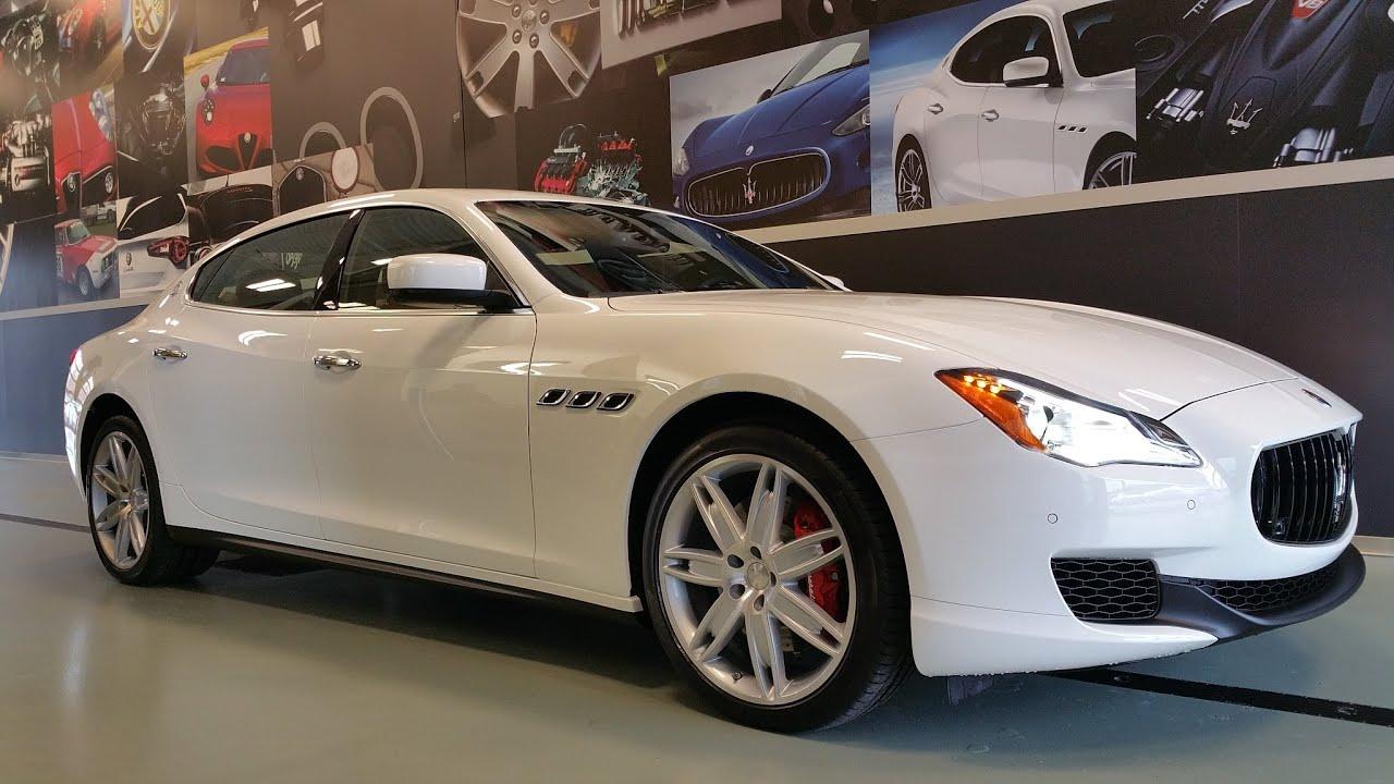 Most Popular Maserati Quattroporte Color Bianco Cuoio