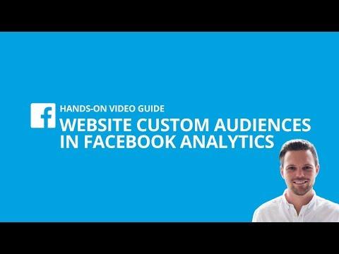 Website Custom Audiences in Facebook Analytics erstellen (Tutorial) [#2 HANDS-ON VIDEO GUIDE]