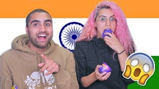 TASTE TEST | CANADIAN-PAKISTANIS TRY INDIAN SNACKS!!!