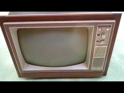 Unboxing NOS Packard Bell CC9000 Commercial Tube Television