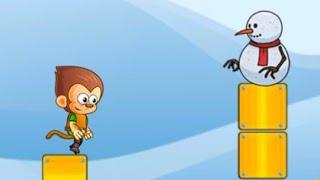 Super Macaco Saltador - Passando Por 4 Fases Incriveis(Super Kong Jumper)