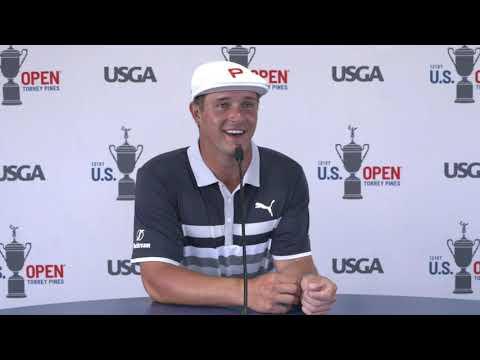 Bryson DeChambeau Sunday Flash Interview 2021 US Open Championship