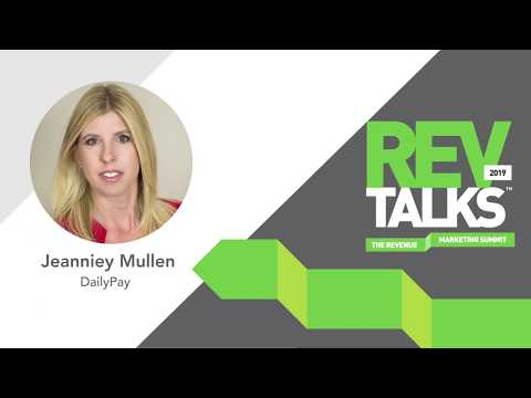 The Future of Work: Inside the Employees (and the Marketers) Mind | Jeanniey Mullen at REVTalks 2019
