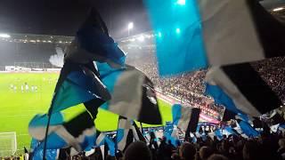 FC St.Pauli - HSV, CHOREO im Gästeblock 16.09.2019, Derby