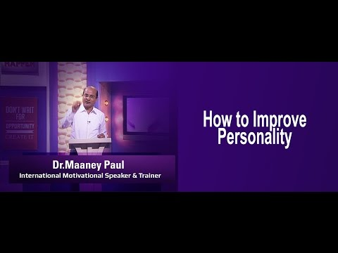 Dr. Maaney Paul, International motivational speaker & trainer │Personality Development [A]