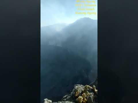 16/9/2018 - Kawah Gunung Agung