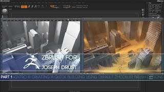 ZBrush for Concepting - Part 1