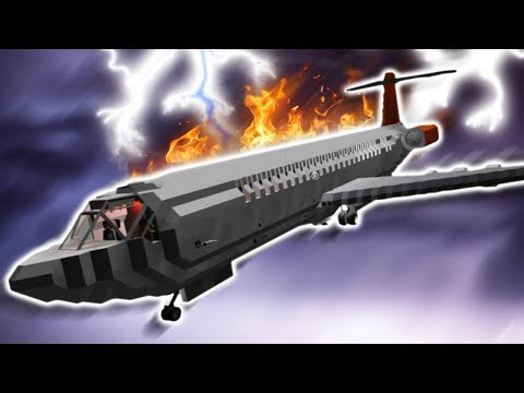 PLANE STRUCK BY LIGHTNING!! - Stormworks: Build and Rescue Gameplay Roleplay - Sinking Ship Survival