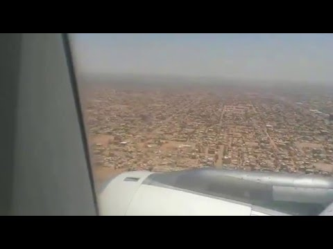 landing- khartoum airport -sudan video 230