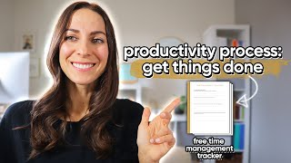 PRODUCTIVITY TIPS: HOW I PLAN AND ORGANIZE MY WORK DAY