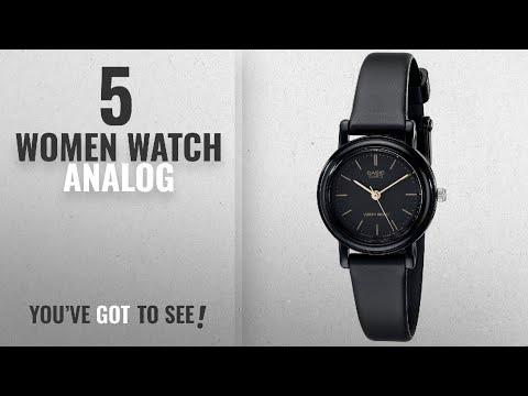 Top 10 Women Watch Analog [2018]: Casio Women's LQ139A-1E Classic Round Analog Watch