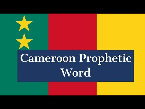 Prophetic Word for Cameroon | Sadhu Sundar Selvaraj