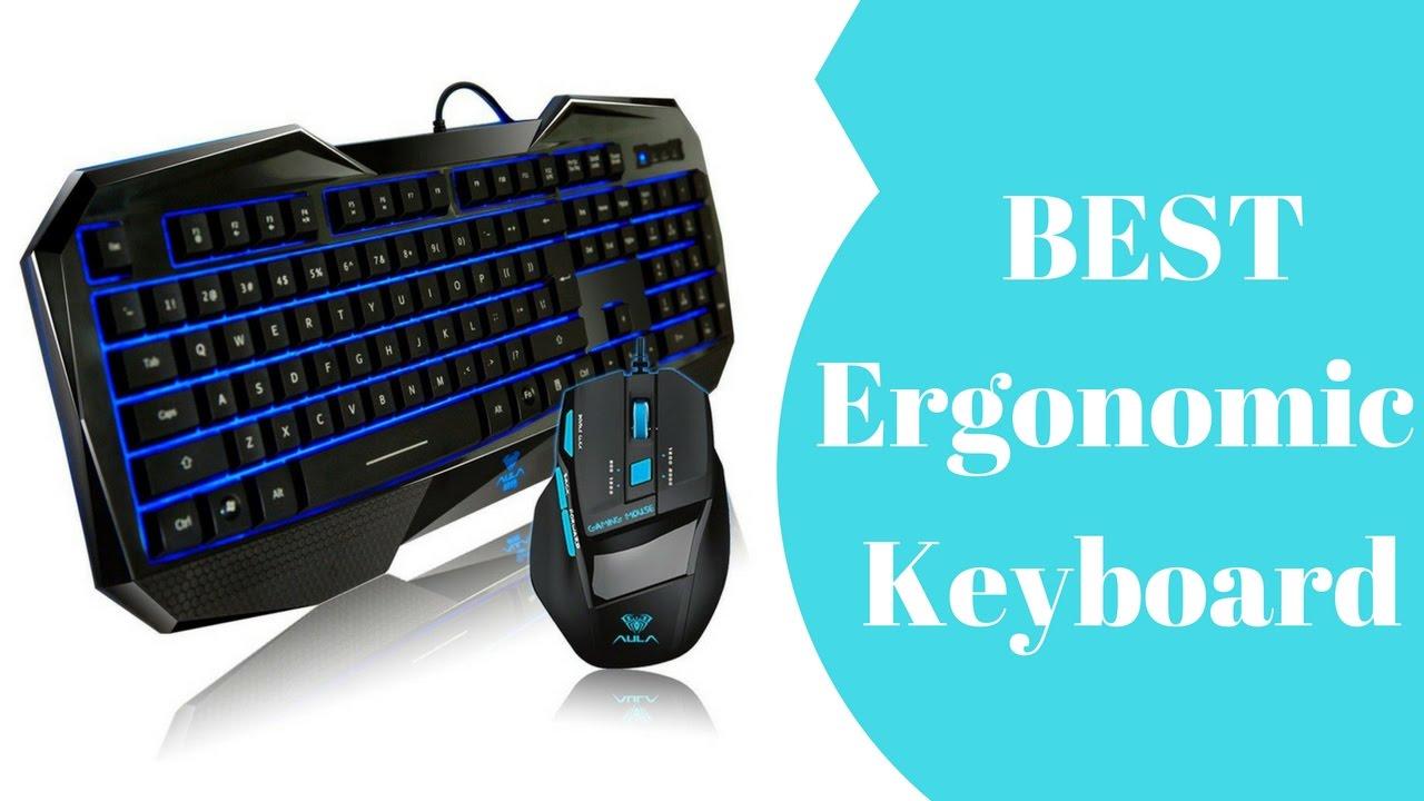 Best Ergonomic Keyboard || Top 10 Best Ergonomic Keyboard in 2017 ...