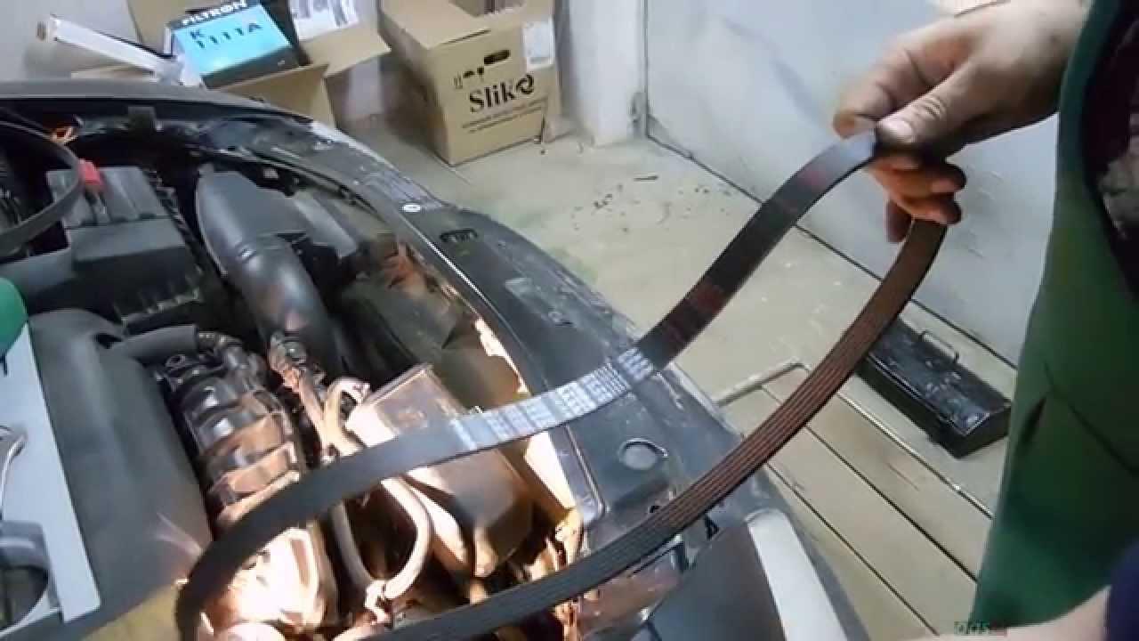 ремонт помпы skoda octavia scout fl