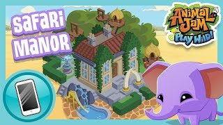 Safari Manor Sneak Peek! |  Animal Jam Play Wild