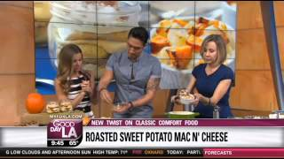 Chef Ronnie Woo Makes Sweet Potato Mac N Cheese On Good Day La