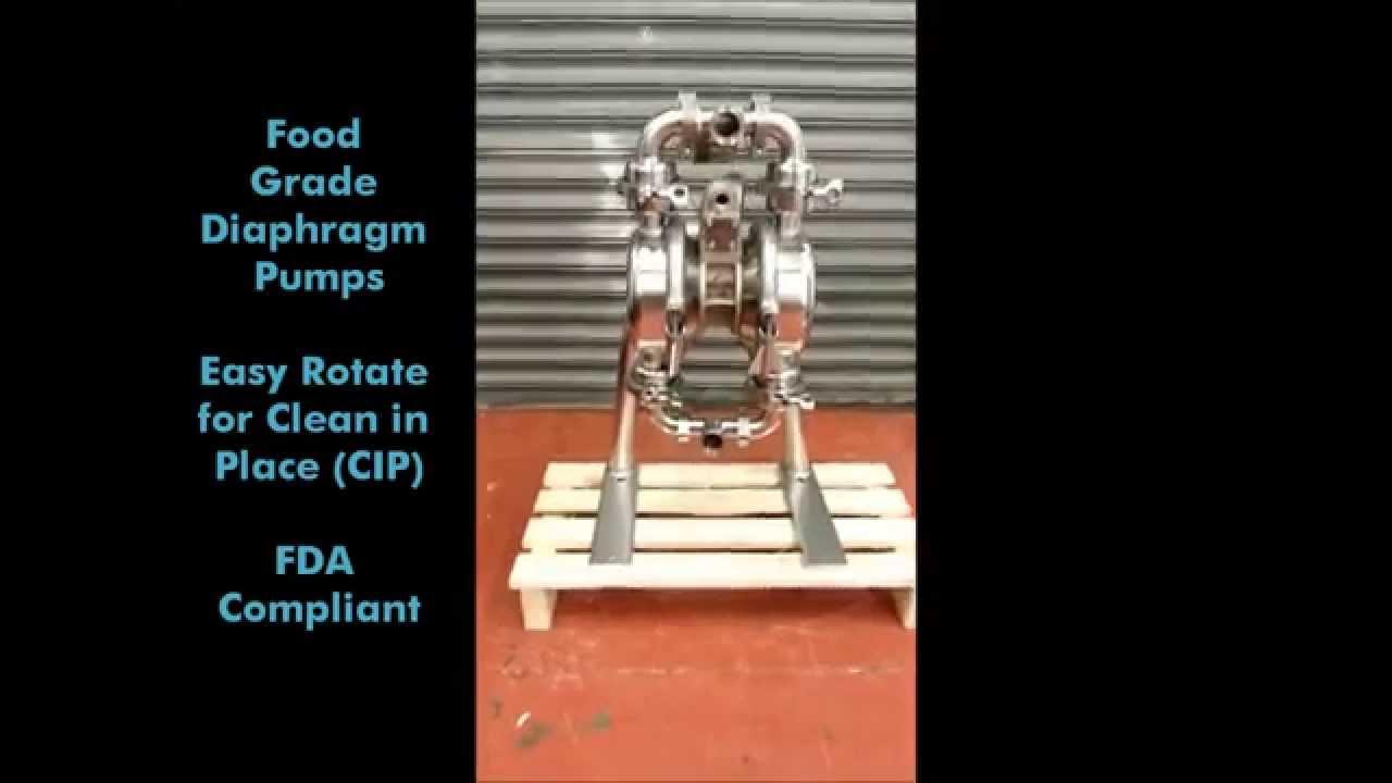 Food grade diaphragm pump youtube food grade diaphragm pump ccuart Gallery