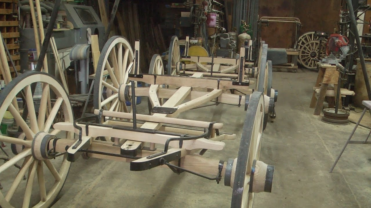 New Sheep Wagon Gear Final Assembly The Wheelwright Shop