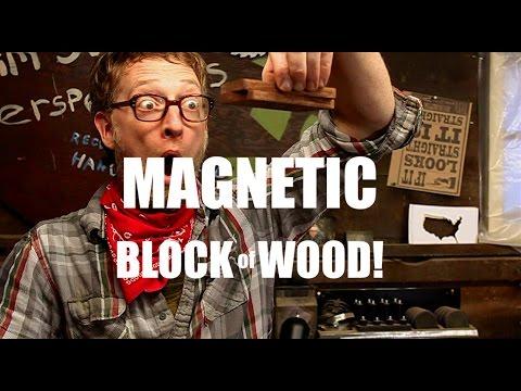 Make Magnetic Blocks of Wood!