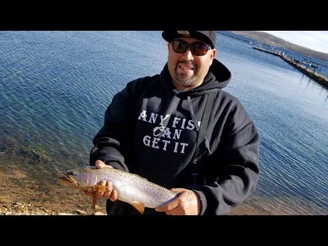 Cutthroat Trout Fishing Strawberry Reservoir Utah