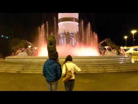 Timelapse Skopje by night 1.1