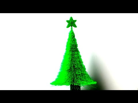 3d printed christmas tree thingiverse print review youtube