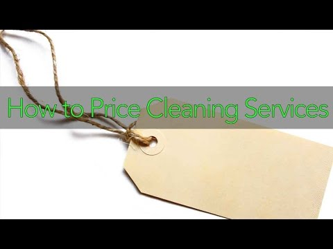 How to Price Cleaning Services & Make More Money for YOUR Cleaning Company
