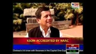 Repeat youtube video CNN-IBN telecasts a story on KSOM (KIIT School of Management) , Bhubaneshwar, Odisha.