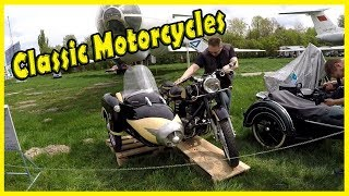 Old and Rare Motorcycles Shows Review 2018. Classic Motorcycles at the Car Shows 2018