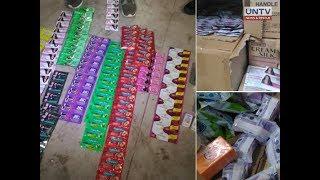 Bilyong halaga ng mga pekeng produkto, nasabat ng BOC sa 3 warehouse sa Bulacan