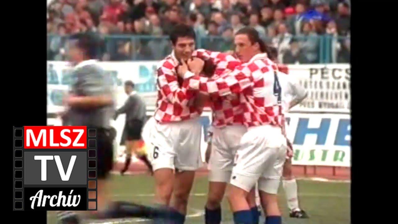 Horvátország-Magyarország | 4-1 | 1996. 04. 10 | MLSZ TV Archív