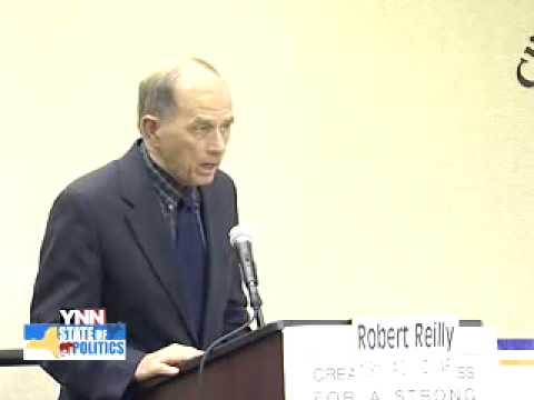 Robert Reilly (D) Had An Awkward Debate Moment!