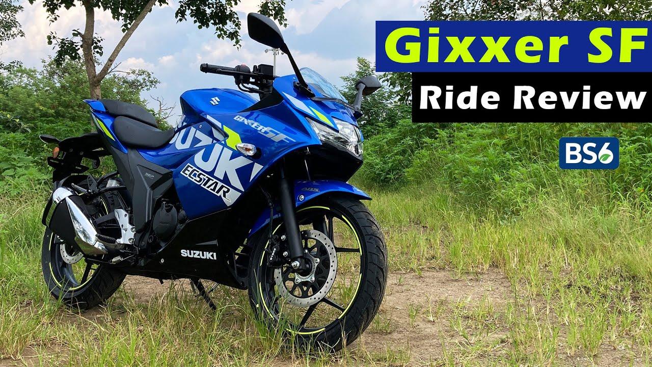 video Suzuki Gixxer SF