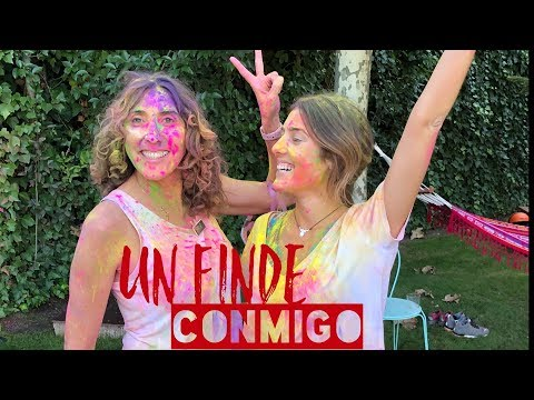 HOLI PARTY EN CASA · Un finde conmigo @annafpadilla