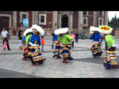Indigenous dance La Villa; Mexico City thumbnail